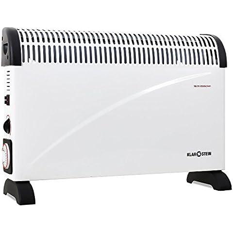 Klarstein HT005CV - Calefactor (230V, 50 Hz, 59 cm, 20 cm, 42,5 cm)