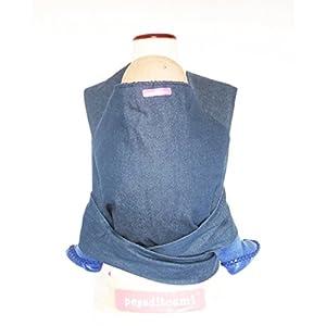 41jjh vtlIL. SS300  - Mochila portabebé artesanal tipo Mei tai modelo Monstruos - Pegaditoami