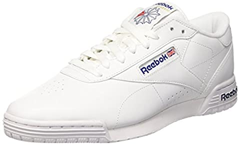 Reebok Herren Ex-O-Fit Clean Logo Int Low-Top, Weiß (Int-White/Royal Blue/Royal Blue), 42 EU