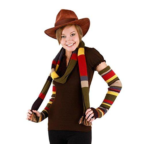 Herren Smith Kostüm John - Doctor Who The Fourth Doctor Tom Baker Brown Kostüm Hut