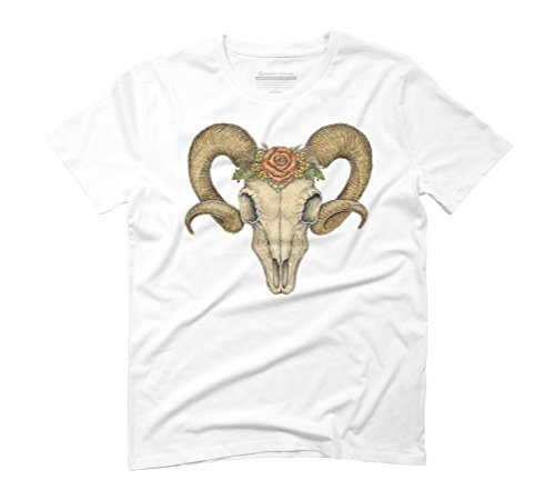Crowned Men's Graphic T-Shirt - Design By Humans White