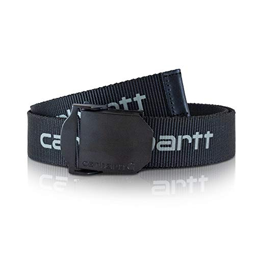 Carhartt Herren Signature Web Belt, Medium, Schwarz, 1 (Ch-gürtel)