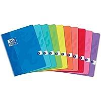 Oxford Classic 100104421 - Pack de 10 libretas grapadas de tapa blanda, A5+