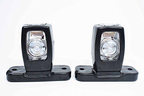 2x LED 24V 12V Begrenzungsleuchte Seitenleuchte Positionsleuchte Makierung LKW Anhänger (Led-positionsleuchten)
