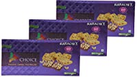 Karachi Bakery Triple Delight, Triple Choice, Choconuts, Cashew and Fruit Biscuits, 600g (Pack of 3)