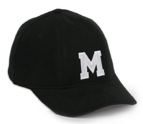 Casual Baseball Cap A-Z Letter Alphabet Embroidered hat hats caps adjustable strap Snap back MFAZ Morefaz Ltd