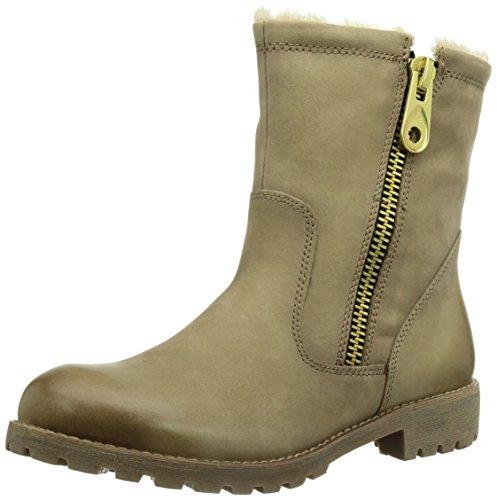 Tamaris 26911 Damen Combat Boots Beige (Truffle 428)