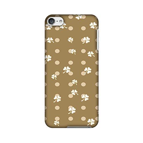 Amzer Case/Schutzhülle, handgefertigt, Designer-Hartschale, inkl. Reinigungs-Kit für iPod Touch, Shamrock-White, mit Schutzhülle (Ipod-reinigungs-kit)