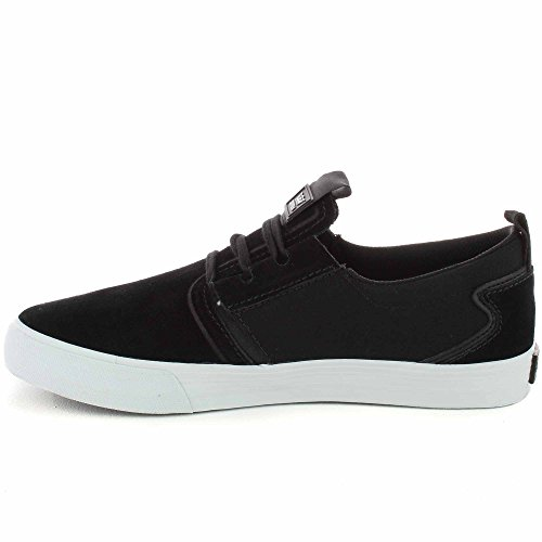 Supra - Chaussures Skateshoes Homme Flow - Taille:one Size noir/blanc