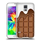 Head Case Designs Schmelzende Schokolade Schokoriegel Soft Gel Hülle für Samsung Galaxy S5 / S5 Neo