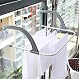 Collapsible Towel Clothes Hanger Heat-Resistant Hanging Type Multi-Purpose Radiator Clothes-Horse & Creative Home Products S