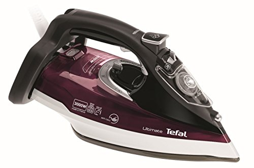 Tefal FV9788 Ultimate Anti-scale Steam Iron, 3000 Watt, Dark Red Best Price and Cheapest