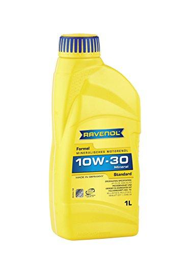 RAVENOL Formel Standard SAE 10W-30 / 10W30 Mineralisches Motoröl (1 Liter)