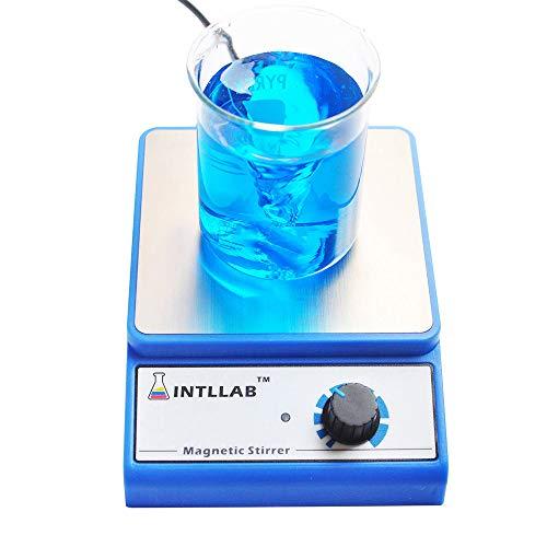 Aibecy INTLLAB Magnetrührer Magnetic Stirrer mit Rührstab bis 3000 U/min Rührkapazität 3000ml