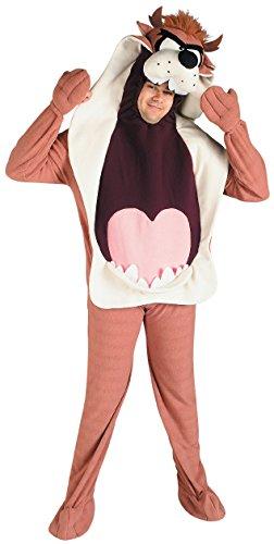 Preisvergleich Produktbild Original Lizenz Taz Kostüm Loony Tunes Warner Bros Walt Disney Beuteltier Hund Tasmanian Devil tasmanischer Teufel Bugs Bunny Erzfeind Gr. STD
