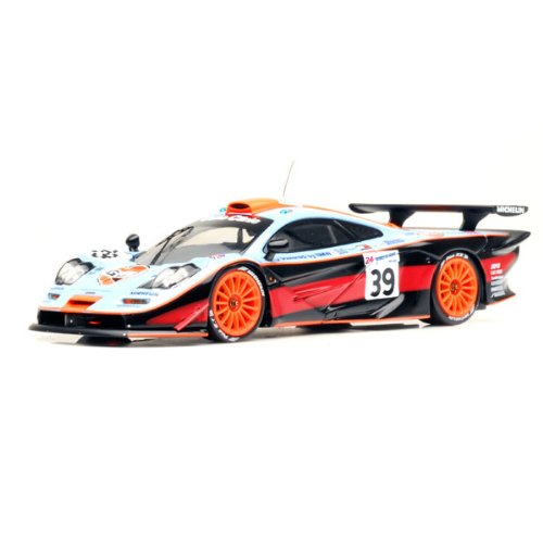 hpi-1-43-scale-prefinished-fully-detailed-diecast-model-mclaren-f1-gtr-1997-lemans-gulf-team-davidof