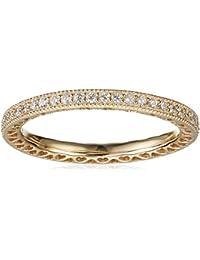 Pandora Damen-Ring Unendliche Herzen 585 Gelbgold Zirkonia weiß - 150181CZ