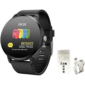 La pulsera inteligente Oshide V11 con luz de respiración admite la grabación de deportes/el brillo de la pantalla aumentando la monitorización de la ...