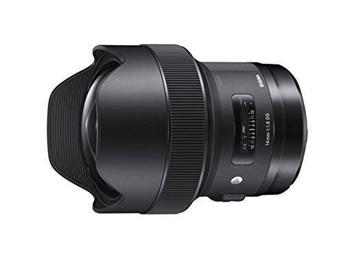 Sigma 14mm F1,8 DG HSM Objektiv für Nikon schwarz (85 Festbrennweite Nikon)