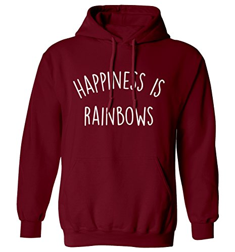 happiness is rainbows hoodie XS - 2XL