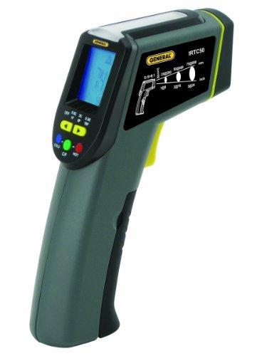General Tools Thermoseeker 8: 1 Energie-Audit IR-Thermometer mit Star Burst Laser Targeting (IRTC50)