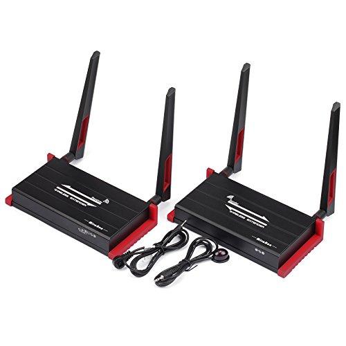 Mirabox 984 FT Wireless HDMI Extender unterstützt Full HD 1080p HDMI Kabellose Übertragung mit IR-Fernbedienung und HDMI lokale loopout (hsv922W 300m Wireless HDMI Extender) (Extender Hdmi Wireless)