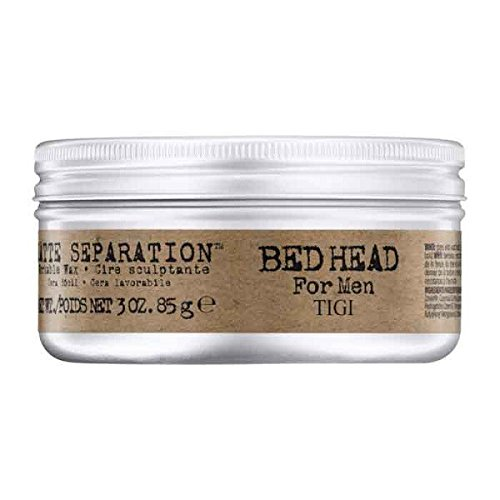 Tigi Bed Head For Men Matte Separation Workable Wax 85 g <p>Verleiht starken Halt & ein mattes Finish</p>