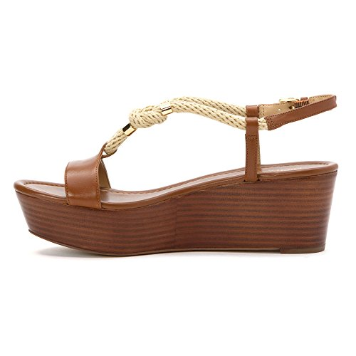 SANDALO MICHAEL KORS 40S6HOFA1L HOLLY FLATFORM Marron