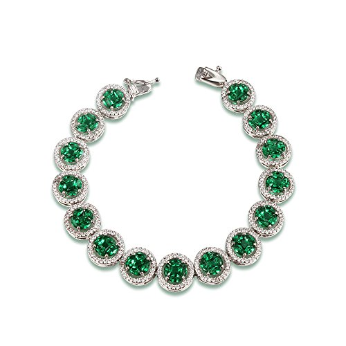 amberma-the-cycle-of-love-15-green-clear-aaa-cubic-zirconia-crystals-time-symbol-pendant-18k-plated-