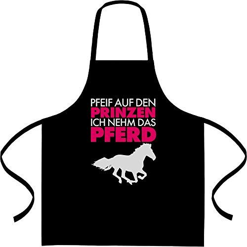 Pfeif auf den Prinz ich nehm das Pferd Kochschürze, Grillschürze, Latzschürze One Size (Paare Ideen Kostüme Witzige)
