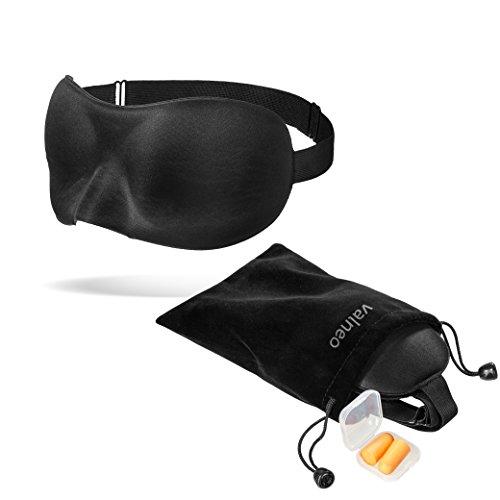 valneo-sonno-maschera-con-banda-elastica-flessibile-borsa-in-velluto-e-copriauricolari-per-un-sonno-