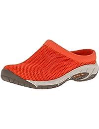 Merrell Women s Encore Breeze 3 Slip-On Shoe Spicy Orange 5.5 B(M) US
