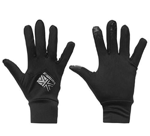 Frühling Snowboard Handschuhe (Karrimor Damen Liner Wanderhandschuhe Outdoor Schwarz XS)