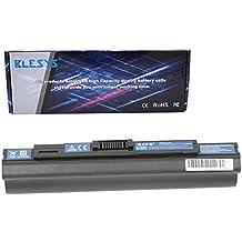 BLESYS - 6600mAh/11.1V, 9 celle Acer UM09B31 UM09A41 UM09B73 UM09B34 UM09A31 UM09A75 Laptop sostituzione della batteria si inseriscono batterie Acer Aspire One AO531h, Acer Aspire One ZA3, ZG8, AO751h, AO531h, 751-BK23, Gateway LT31 Series