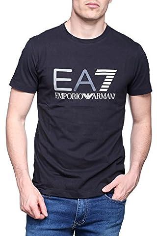 EA7 Emporio Armani - T Shirt 3ypte9 - Pj78z 1578 Marine - Couleur Noir Nouvelle Collection printemps/été 2017 (M, NOIR)