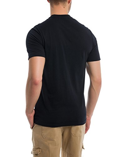 Bench Herren T-Shirt Corp Tee Schwarz