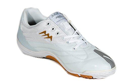 AGLA , Chaussures pour homme spécial foot en salle 25,5 WHITE/GREY