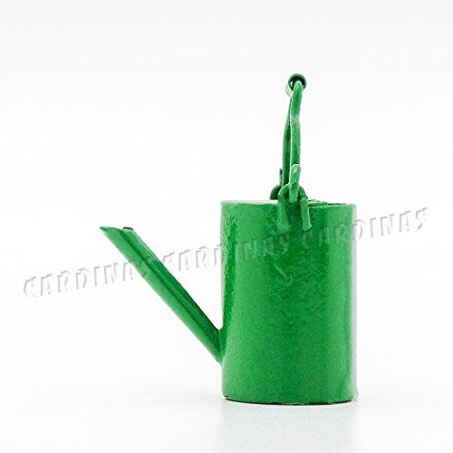 odoria-112-miniature-arrosoir-en-metal-vert-accessories-de-fee-de-jardin