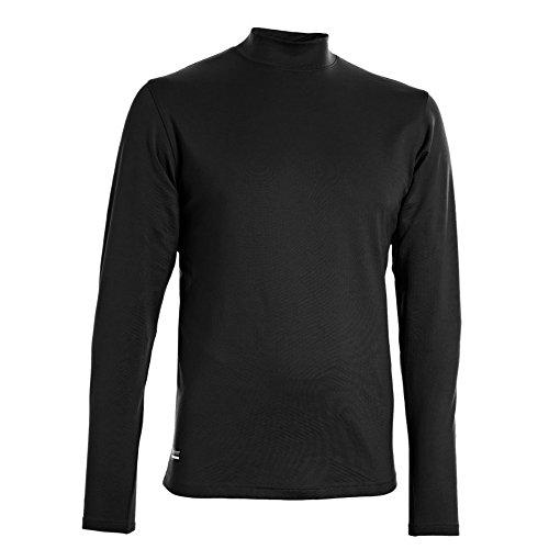 Under Armour Coldgear Infrared, Maglietta Tecnica Aderente con Maniche Lunghe Uomo Black / Black