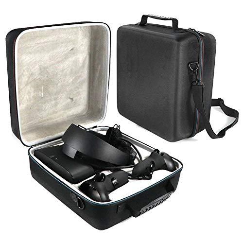 Ritapreaty Hard Carry Case für Oculus Rift S PC-betriebenes VR-Gaming-Headset und Controller-Zubehör Tragbare Schutztasche Aufbewahrungstasche für unterwegs -