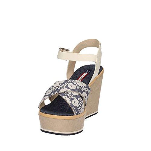 U.s. Polo Assn. ESTY4034S7/TY1 Sandalo Zeppa Donna Blu
