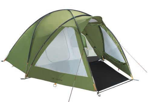 Vaude Division Dome 4-5 Person Tent - Green by Vaude Division Dome