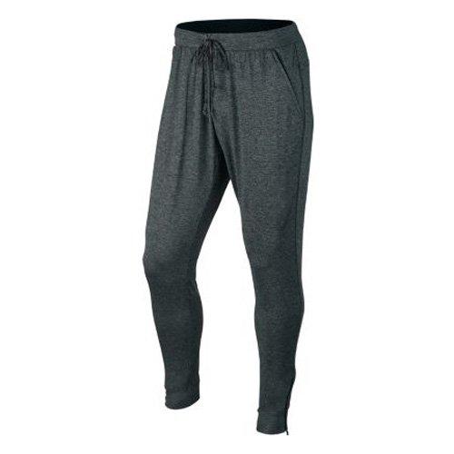 NIKE Herren Ultimate Dry Knit Trainingshose Tumbled Grau/Schwarz