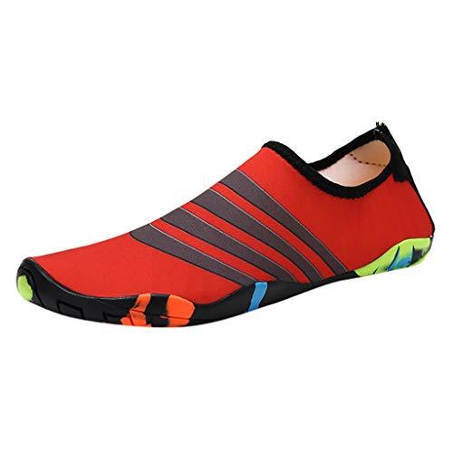 ODRD Sandalen Shoes Lässige Paar Strandschuhe Schwimmen Schuhe Wasser Schuhe Barefoot Quick Dry Aqua Schuhe Schuhe Strandschuhe Freizeitschuhe Turnschuhe ()