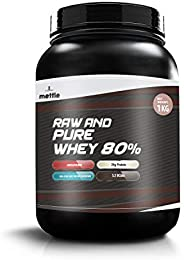 swasthum Mettle Raw and Pure Whey 80%, 1 Kg