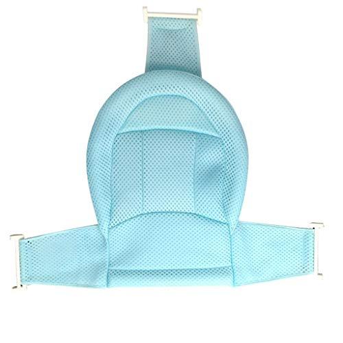 Babybadesets für Unterwegs Neugeborenes Bad Artifact Baby-Bad-Net-Baby-Bad Ständer Universal Anti-Rutsch-Reclining Net Bag Kinderbadematte Baby-Bad-Unterstützung Sitz (Color : Blue)