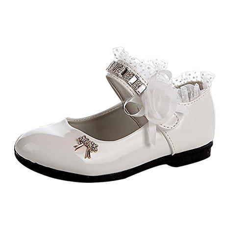 Taiycyxgan Mädchen Frühling Schuhe Kinder Prinzessin schnüren Schuhe ...