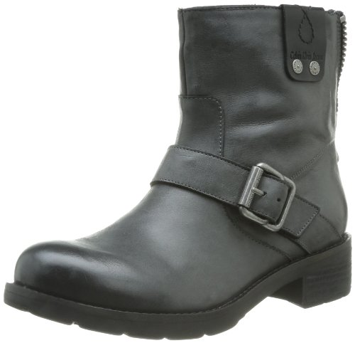 Calvin Klein Jeans Hadley Tumbled Calf, Boots femme Noir (Blk)