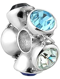 Nena Lina crystal bead elementos de Swarovski en 925 Sterling con plata, también pulseras Pandora, 718045-003