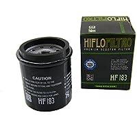 Filtro olio HiFlo HF183per Adiva Aprilia Benelli Derbi Gilera Italjet Malaguti Peugeot Piaggio/Vespa